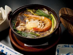 ... udon noodle soup nabeyaki udon soup at shi ki nabeyaki udon at geido